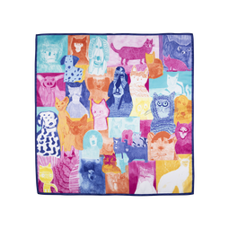 Cats and Dogs Knot Wrap