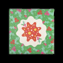 Christmas Pudding Lokta Wrap