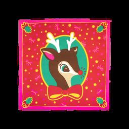 It's Christmas Deer Knot Wrap