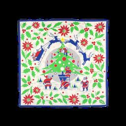 Rocking Around The Christmas Tree Knot Wrap